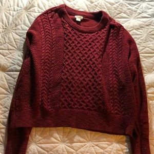 Red Sweater from Target